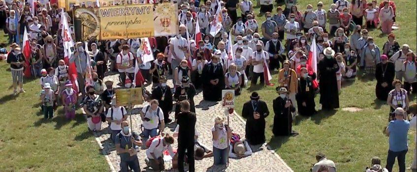 JASNA GÓRA: 40. Przemyska Archidiecezjalna Piesza Pielgrzymka u Tronu Matki
